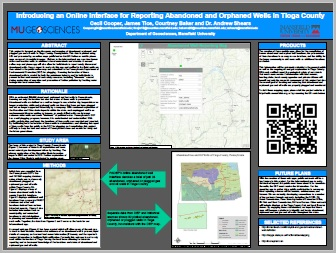 Introducing an Online Interface for Reporting Abandoned and Orphaned Wells in Tioga County