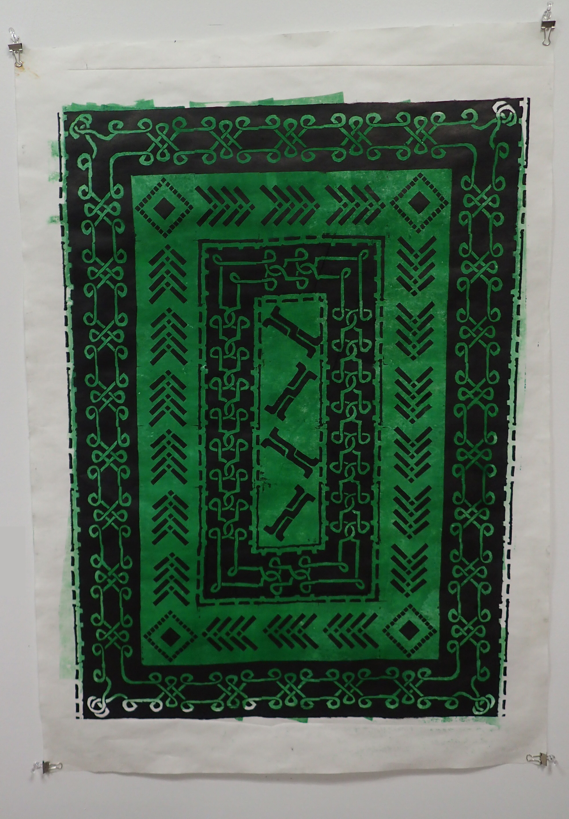 Celtic Tapa Cloth