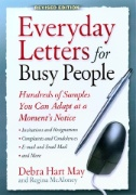 book cover for Everyday Letters for Busy People