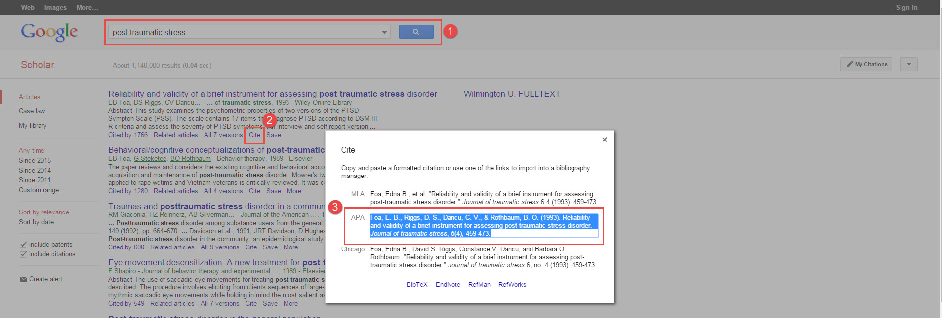 You Can Find Apa Citations Using Google Scholar Warning! Always Check  Citations For Errors With