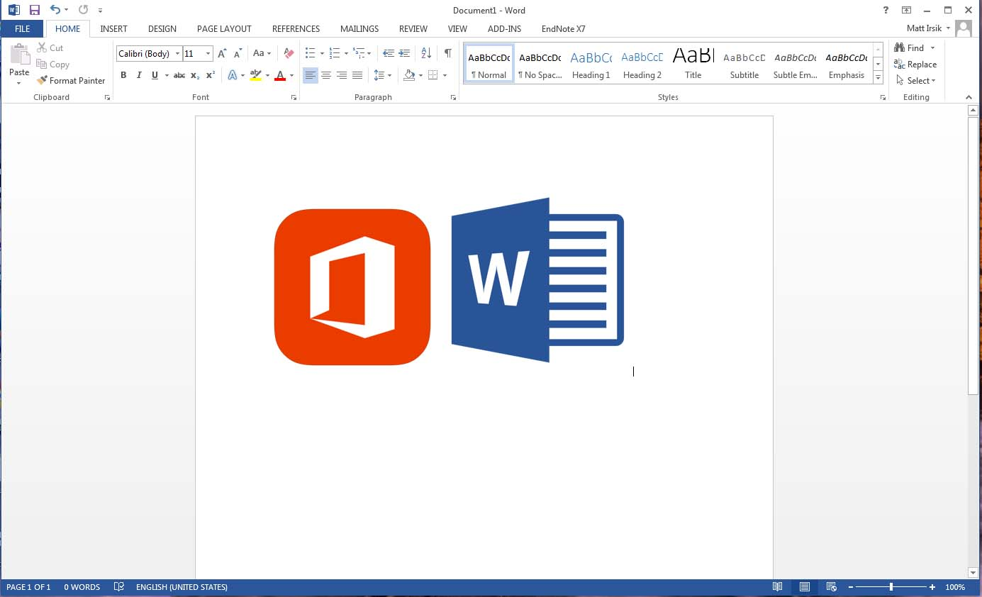 Home microsoft word 2013 basics ulibraries subject guides at microsoft word 2013 overview ccuart Choice Image