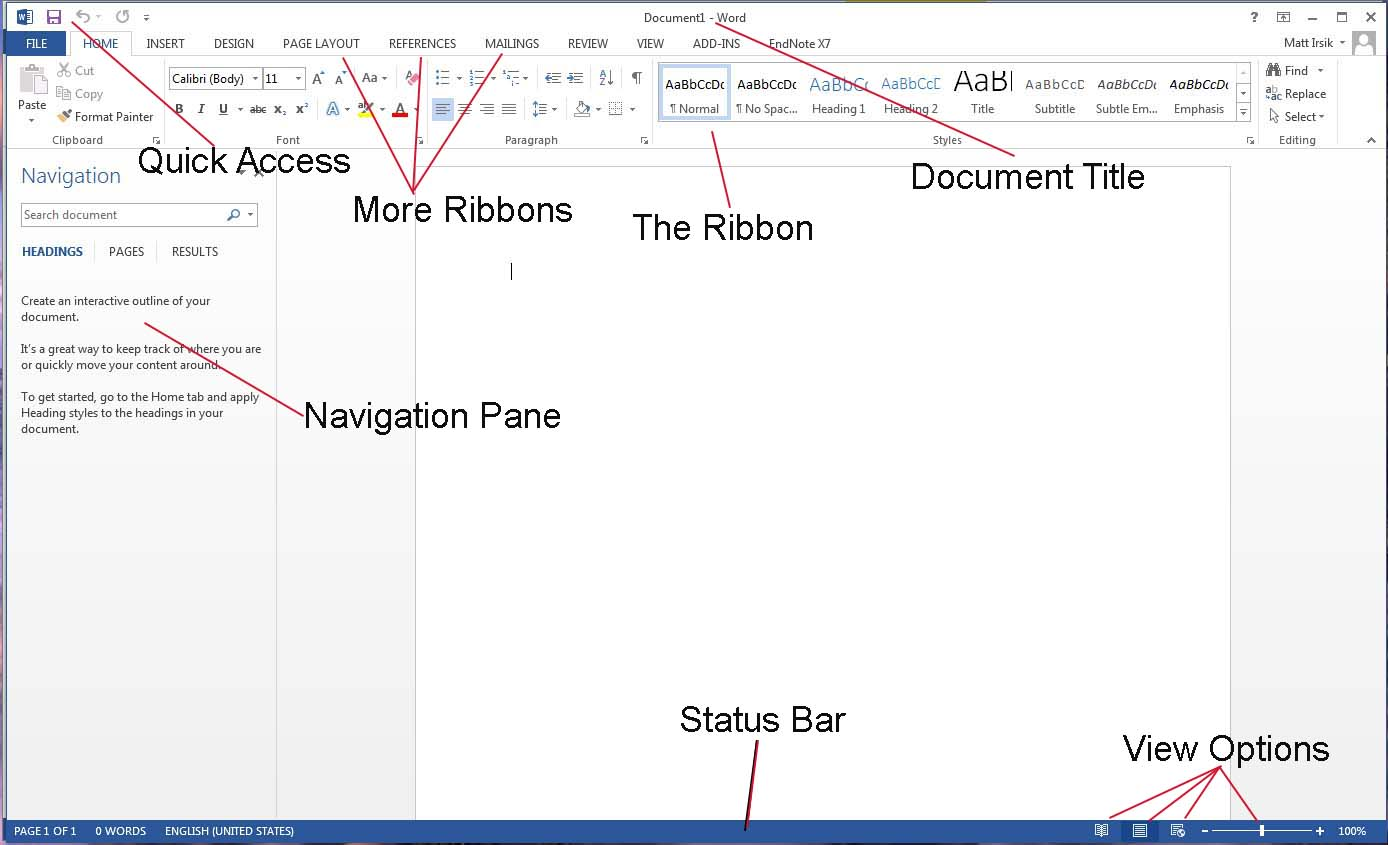 Diagram Of Microsoft Word Basics - Trusted Wiring Diagram •