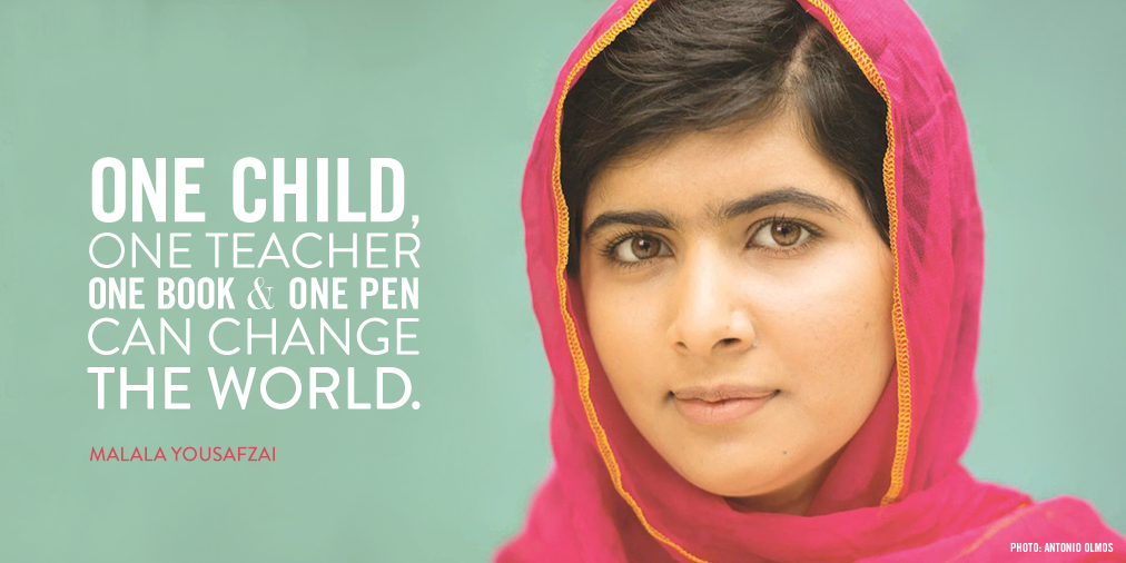 I Am Malala Quotes Entrancing Home  I Am Malala  Libguides At T.cwilliams High School