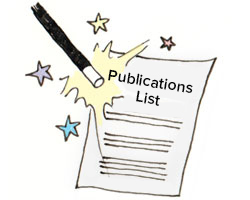 Magic wand creating publications list