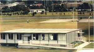The old Wollongong Campus Library was a demountable