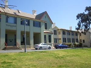 Main Building Goulburn Campus