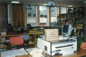 Old library at Goulburn Campus, 1991