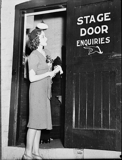 Stage door image