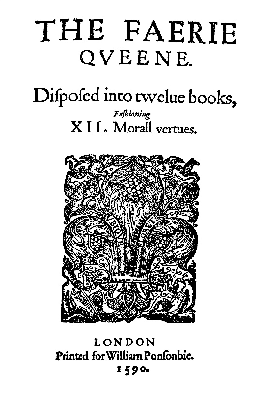 The Frontispiece to The Faerie Queene (Wickipedia)
