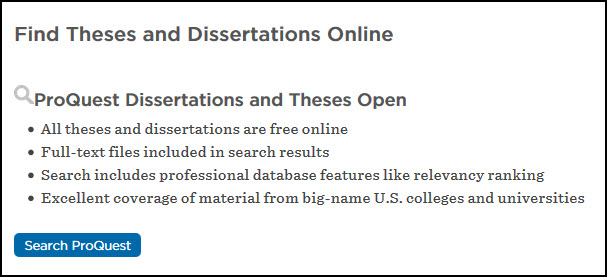 search thesis and dissertations The about page of the british library ethos service search across 475,000+ theses for free and order full text quickly and easily.