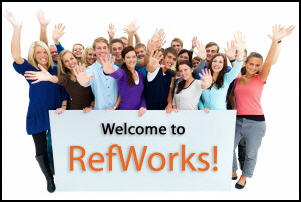 Welcome to RefWorks graphic