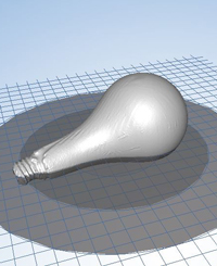 lightbulb 3d model
