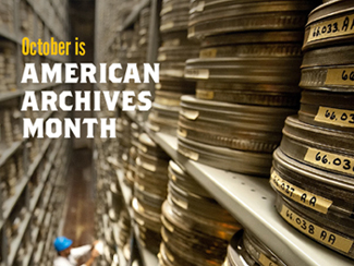 Sign for American Archives Month