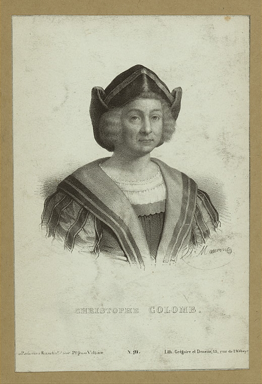 The Miriam and Ira D. Wallach Division of Art, Prints and Photographs: Print Collection, The New York Public Library. Christopher Columbus. Retrieved from http://digitalcollections.nypl.org/items/510d47df-2923-a3d9-e040-e00a18064a99