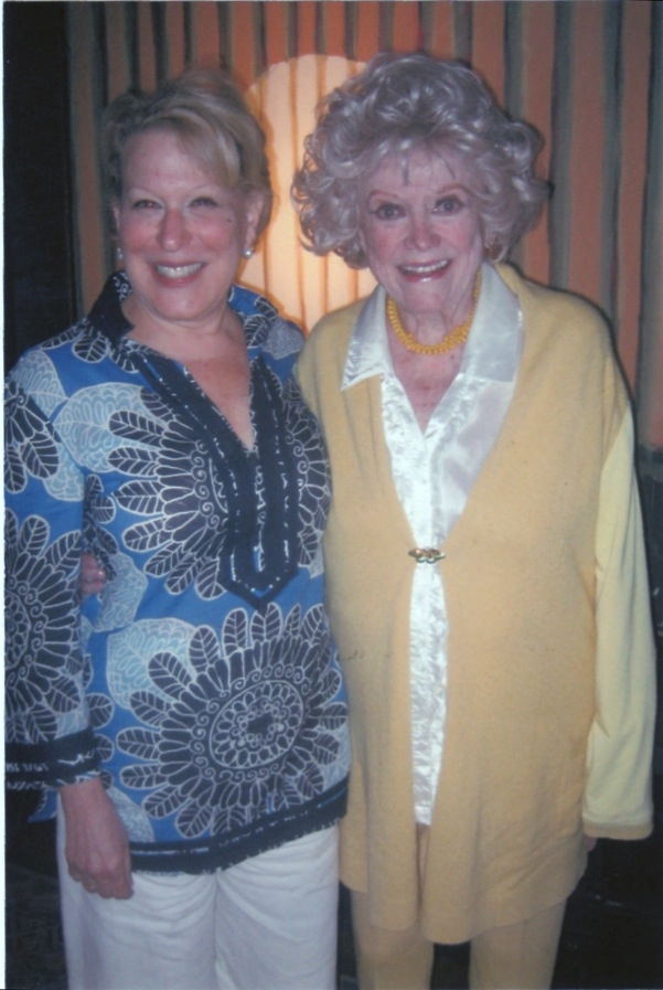 Bette Midler with Phyllis Diller