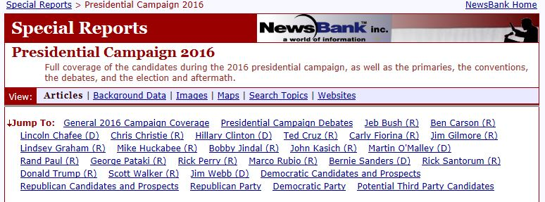 access world news presidential campaign 2016 special reports menu