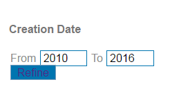 Date limiting in Search It