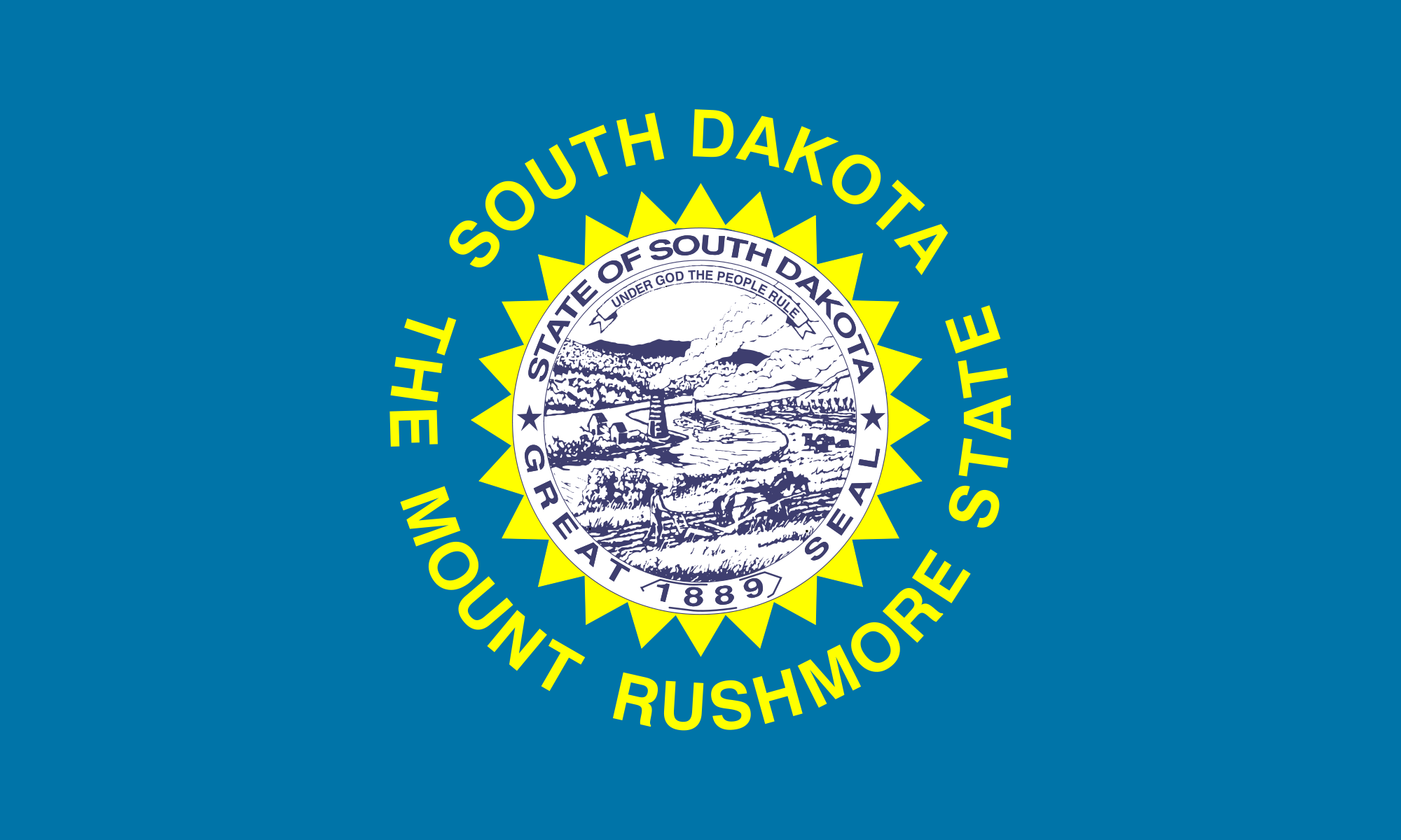 South Dakota Flag