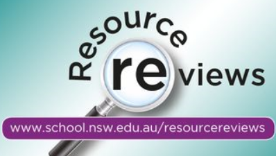 Resource reviews database logo