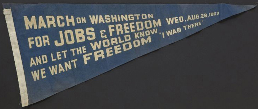 March on Washington for Jobs and Freedom Pennant