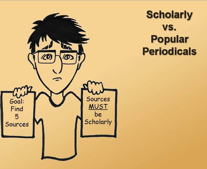 Scholarly vs. Popular Periodicals