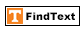 FindText Icon