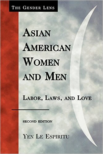 "Cover of "" Asian American Women and Men""  by Yen Le Espiritu."