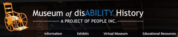 museum of disability history banner