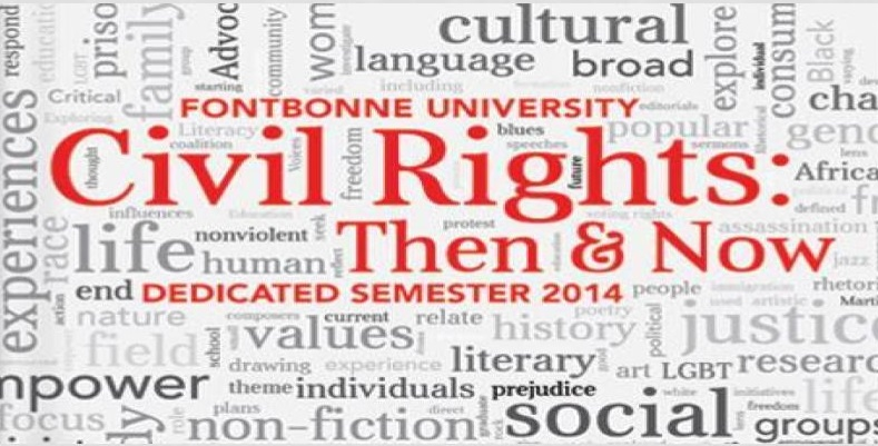 civil rights word cloud