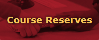 course reserves button as it appears on website