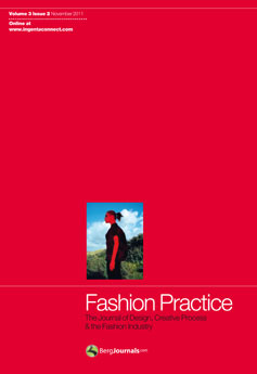 Cover of Fashion Practice journal