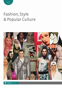 Cover of Fashion, Style and Popular Culture journal