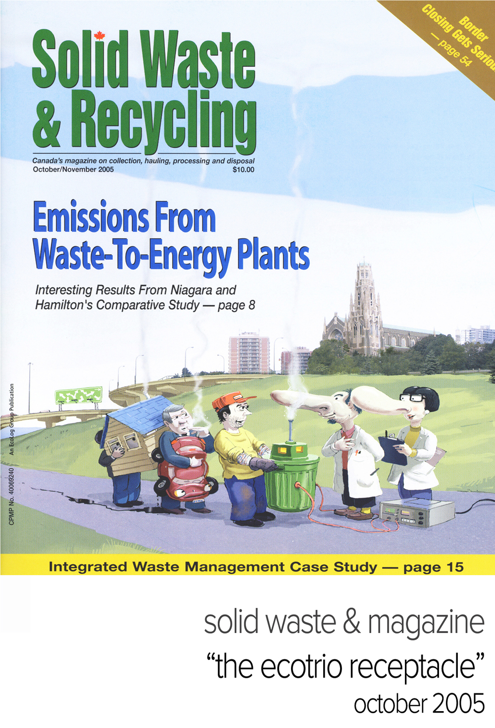 research papers on solid waste