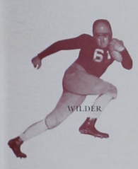 1941 image of a football player