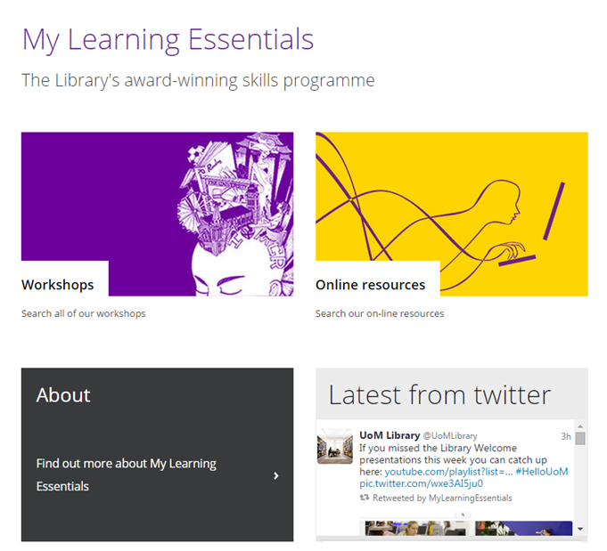 MLE My Learning Essentials