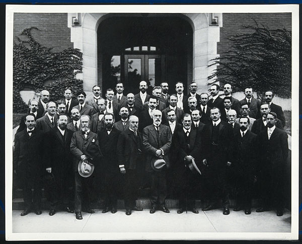 Sigmund Freud, Carl Jung, and Other Eminent Psychologists, Clark University, 1909