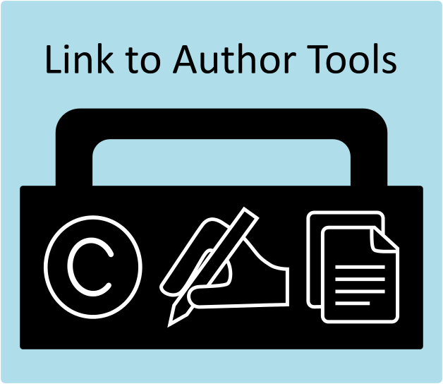 image of author tool kit and link to main author page
