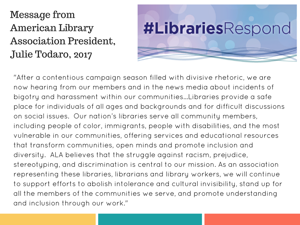 American Library Association Statement