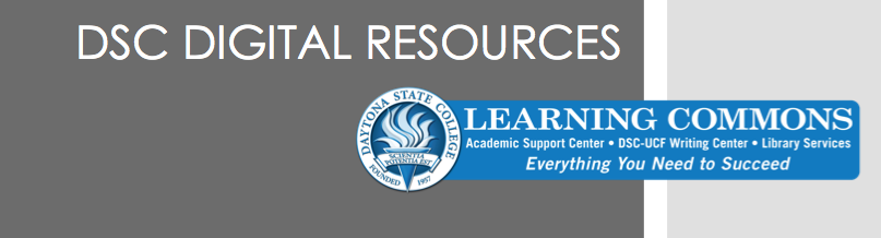 DSC digital resources banner