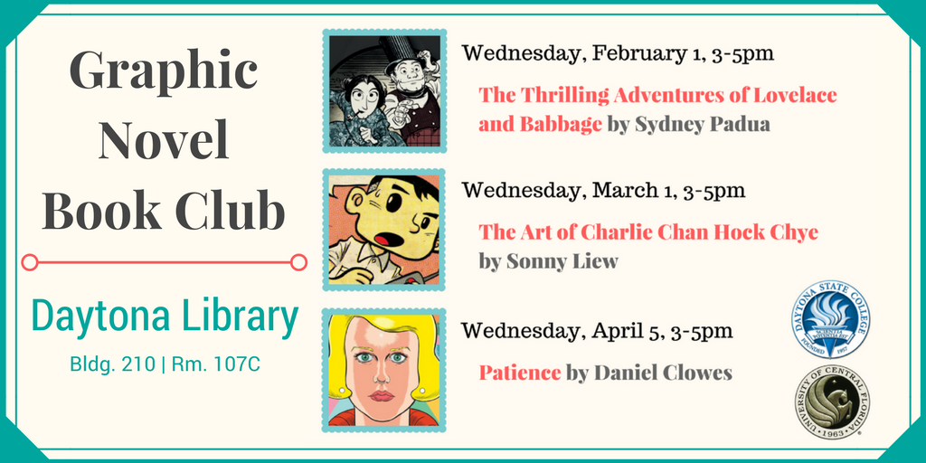 graphic novel book club 2017