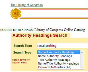 Library of Congress Authorities