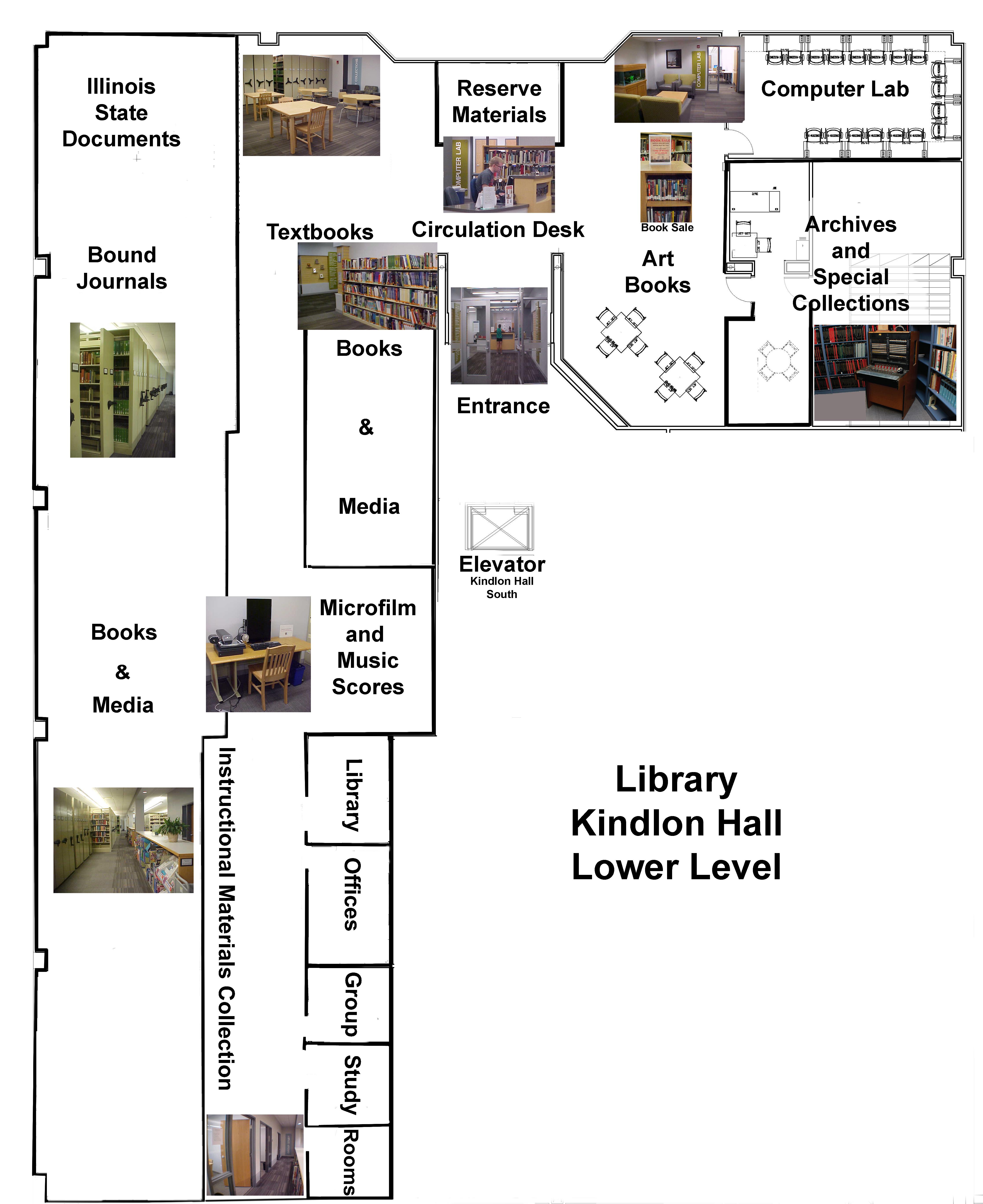 Benedictine Library - Lower Level