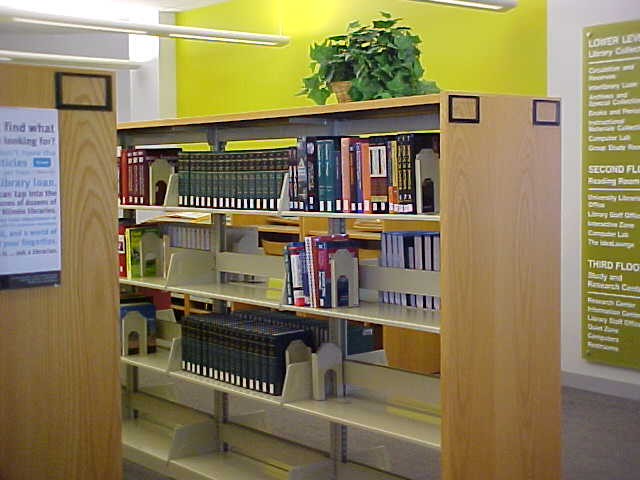 Benedictine Library - Third Floor - Reference Collection