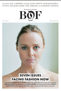 cover of The Business of Fashion: BOF
