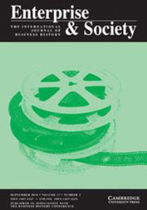 cover of Enterprise & Society