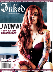 cover of Inked: Mindset, Style, Culture, Art