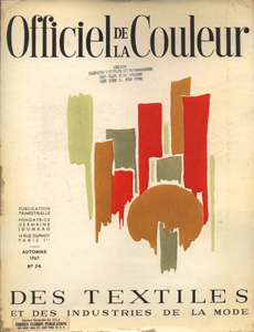 Cover of Officiel de la Couleur des Industries de la Mode