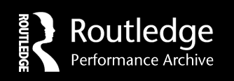 Routledge Performance Archive logo