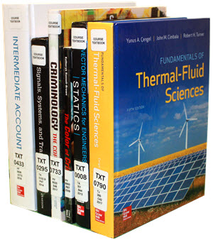 [Image of Textbooks]