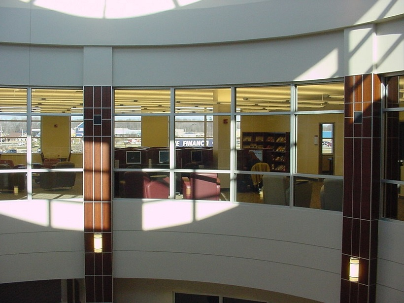 Library rotunda